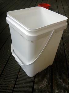 10L square bucket